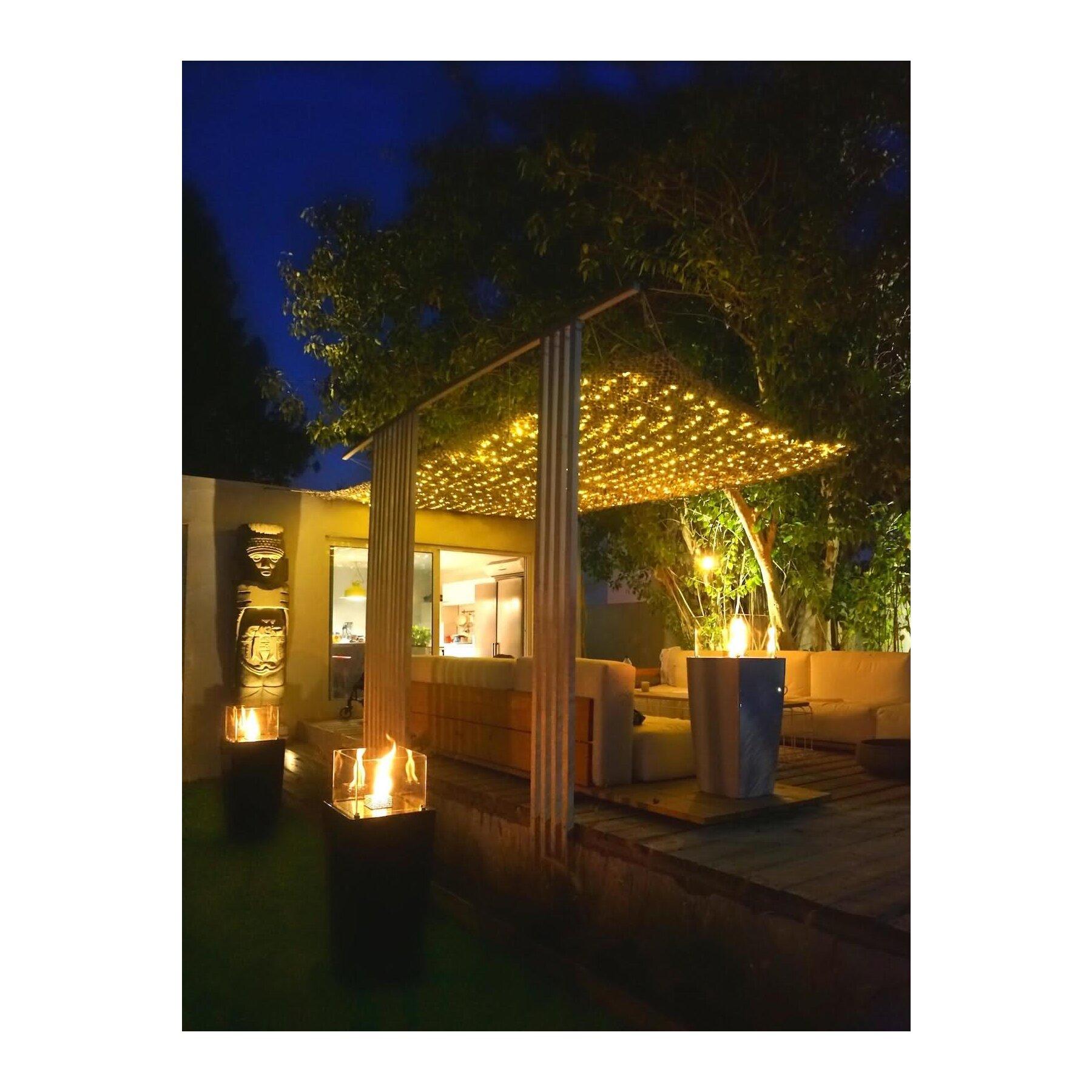 Image [ 13 of 52 ] - Feuerstelle Gelkamin Terrasse Garten Bio ...