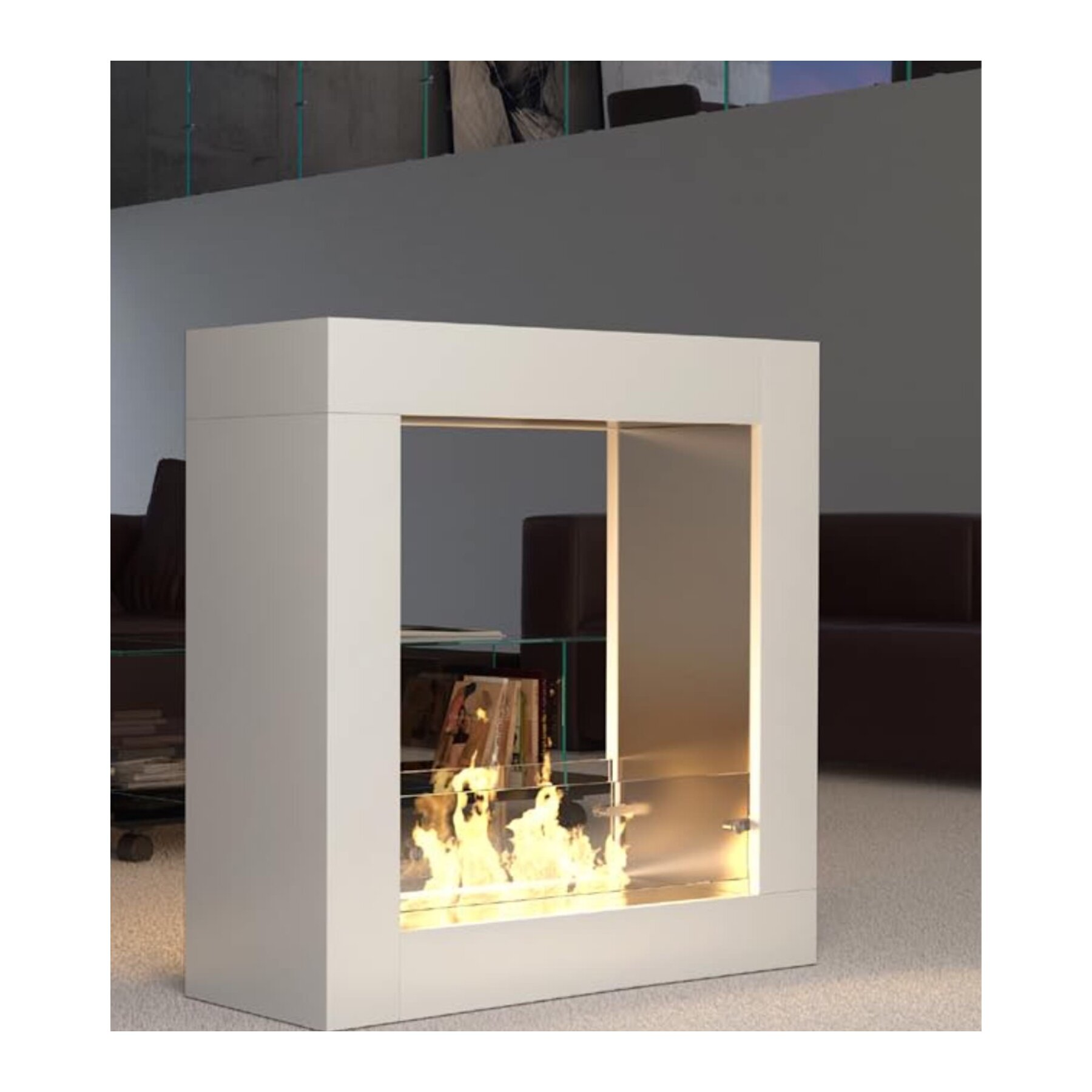 luxus ethanol standkamin decoflame sydney. Black Bedroom Furniture Sets. Home Design Ideas