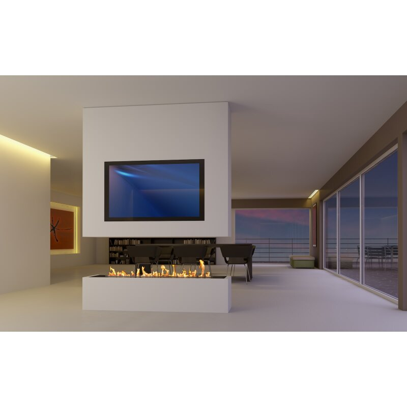ethanol kamin bausatz decoflame e ribbon. Black Bedroom Furniture Sets. Home Design Ideas