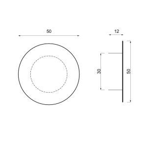 mg12 Round elektrischer Handtuchwärmer