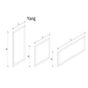 K8 RADIATORI Yin und Yang die extra dünnen Designheizkörper