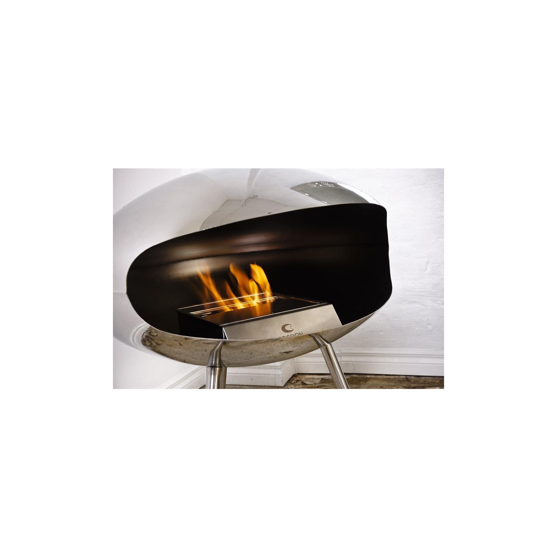 Cocoon fire terra design ethanolkamin stehend for Ethanol kamin design