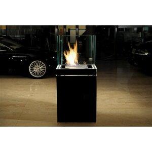 Moderner Ethanolkamin Semi Flame von Radius Design
