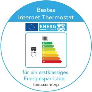 tado Starterset: Internet Bridge + 2 Heizkörperthermostate
