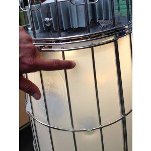 Design Heizstrahler Lightfire Dolcevita Propangas (Flaschen) mit Automatik + Fernbedienung