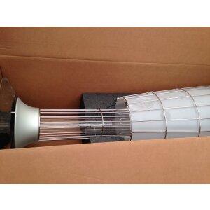 Design Heizstrahler Lightfire Dolcevita Erdgas (Leitung) mit Automatik + Fernbedienung