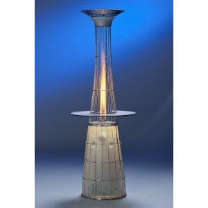 Design Heizstrahler Lightfire Dolcevita Erdgas (Leitung) manuell