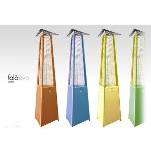 Luxus Terrassen Heizstrahler FALO Evo von Italkero RAL-Farbe anfragen Propangas (Flaschen) mit Automatik + Fernbedienung