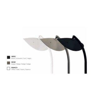 phormalab hotdoor Design Heizstrahler mit einem Heizkopf