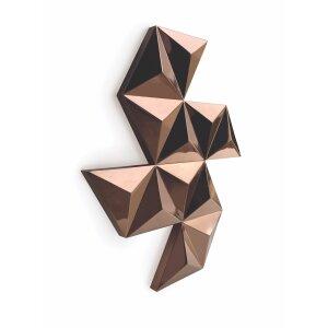 Diamond Design-Heizkörper als Wandrelief