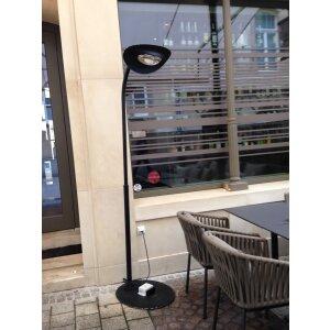 Hotdoor Designheizstrahler im Strassencafe