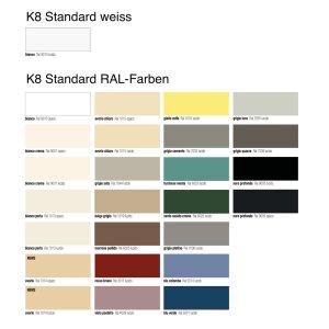 K8 RADIATORI SPEKKIO - horizontaler Spiegelheizkörper andere Farben