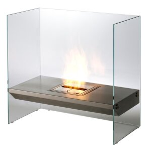 EcoSmart Igloo Design Ethanol Kamin mit Glas