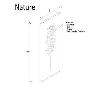 K8 RADIATORI NATURE SALICE Heizkörper Handtuchhalter
