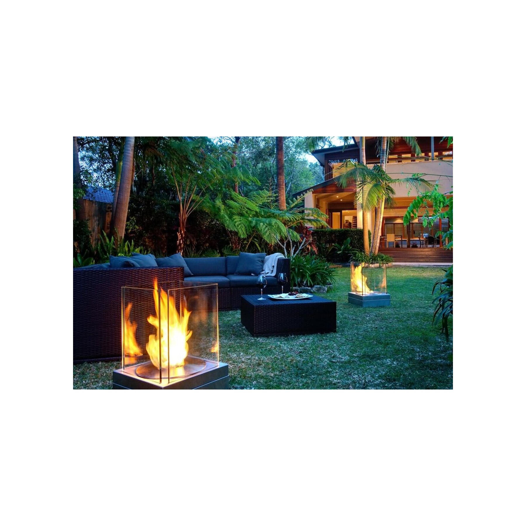 outdoor glasfeuer ecosmart mini t. Black Bedroom Furniture Sets. Home Design Ideas