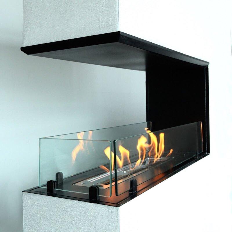 einbau ethanolkamin dreiseitig offen von biokamino. Black Bedroom Furniture Sets. Home Design Ideas