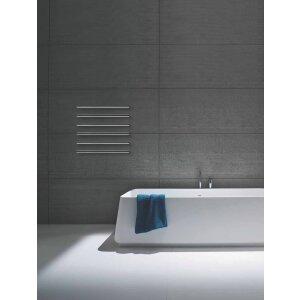 Design Handtuchwärmer elektrisch M Tube 550 andere Farben, zusätzliche Heizelemente