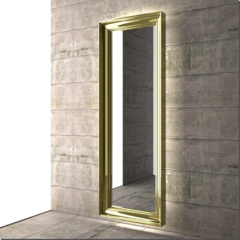 Der Spekkio Spiegelheizkörper ist Heizkörper und Spiegel