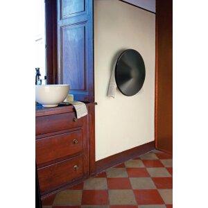 Elektrische Badheizung Shield ohne Stecker 300 Watt schwarz