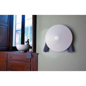 Elektrische Badheizung Shield mit Stecker 300 Watt weiss