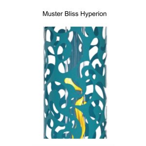 Luxus Gas Heizstrahler Hyperion Propangas Bliss weiss/weiss