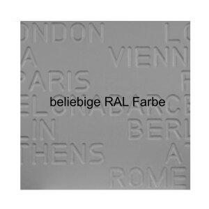 Design Infrarotspeicher Paneele Pur City 86x41, 600 Watt PUR RAL Farbe