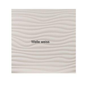 Design Infrarotspeicher Panel Pur Welle 116x56, 1200 Watt PUR weiss