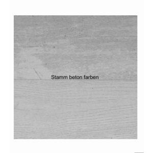 Design Infrarotspeicher Heizung Pur Stamm 116x56, 1200 Watt Pur Beton
