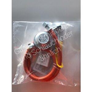 Gasdruckregler + Schlauch (privater Einsatz)