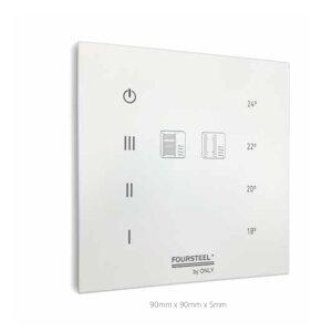 Steuerung für elektrische Heizung Domotic Touch