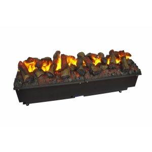 Einbau Elektrofeuer Kit Glamm 3D Plus mit Holz Kit Glamm 3D Plus 1000