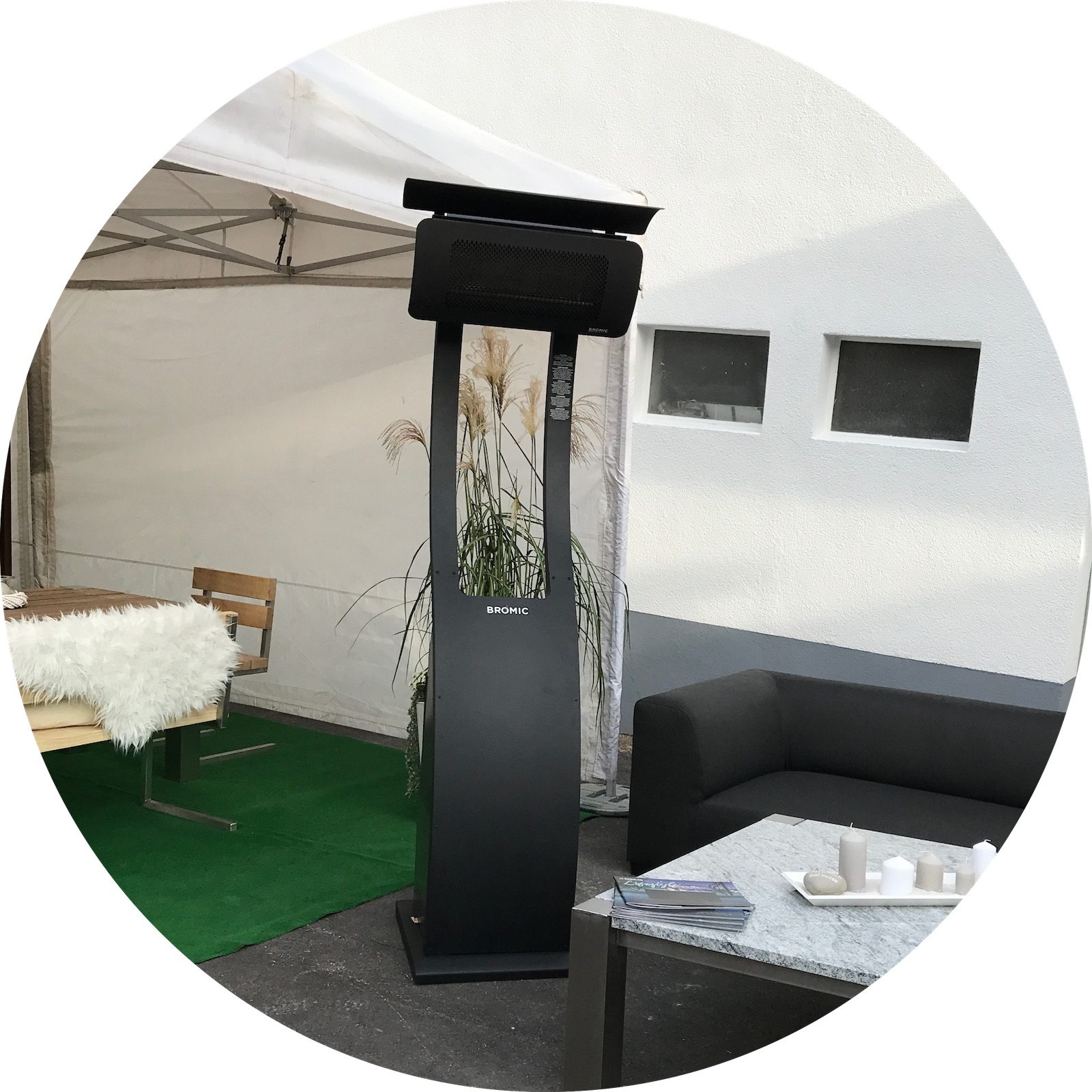 kundeninstallation von designheizk rpern design heizstrahlern und et. Black Bedroom Furniture Sets. Home Design Ideas